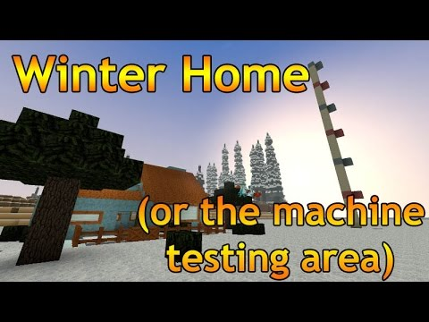 A WINTER HOME (also known as the machine testing area) - PS Creativerse (94)