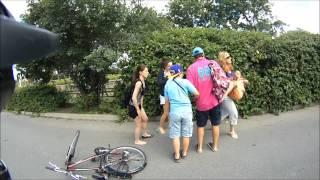 Cyclist Hits Pedestrian