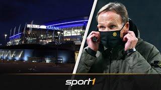 Fan-Sturm auf Schalke! BVB-Bosse vor Abpfiff weg | SPORT1 - DER TAG