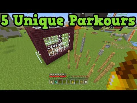 Minecraft Xbox 360 + PS3 - 5 Parkour Map Ideas