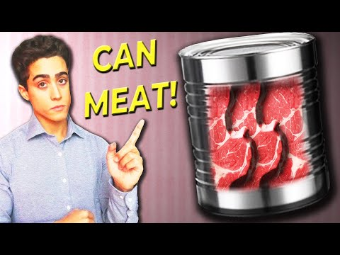 How To Can Meat WITHOUT A Pressure Cooker