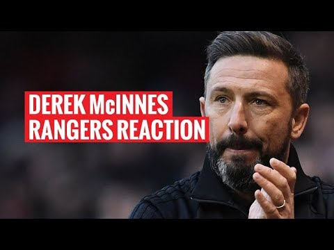 Derek McInnes | Rangers Reaction