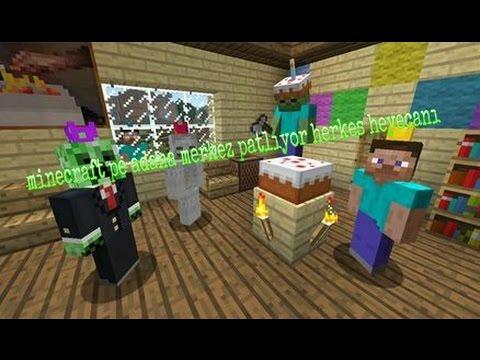 Minecraft pe adana merkez patlıyor herkes heyecanı