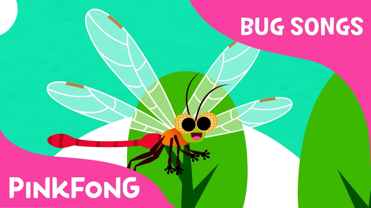 D-D-D-Dragonfly | Bug Songs | Pinkfong Songs for Children - YouTube