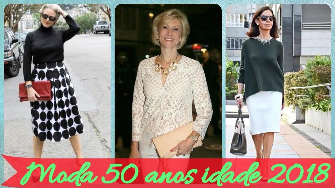 Top 50 moda 🧥 🧥 🧥 para mulheres de 50 anos outono 2018