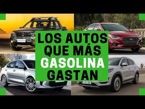 Los autos más GASTALONES de GASOLINA del 2018   Motoren Mx