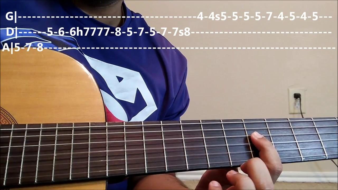 Neele Neele Ambar Par 1st Guitar Leadsolo Guitar Lesson Part