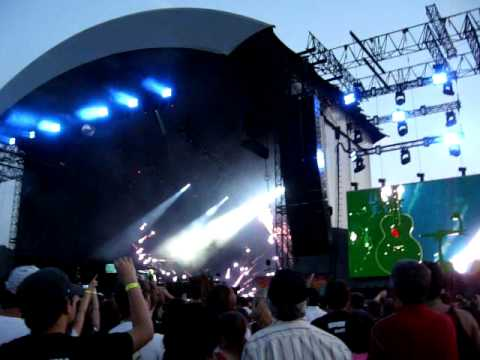 Green Day - 21 Guns - Live @ Munich, 11.6.2010