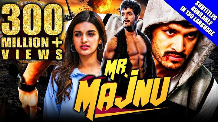 mr majnu 2020 new released hindi dubbed full movie  akhil akkineni nidhhi agerwal rao ramesh