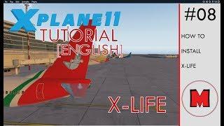 Літак Ікс 11 x-життя-навчальний посібник [англійською мовою]: Як встановити X-життя для X-літака 11