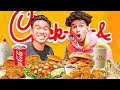 Eating ENTIRE Chick Fil A Menu w/ Kristopher London!