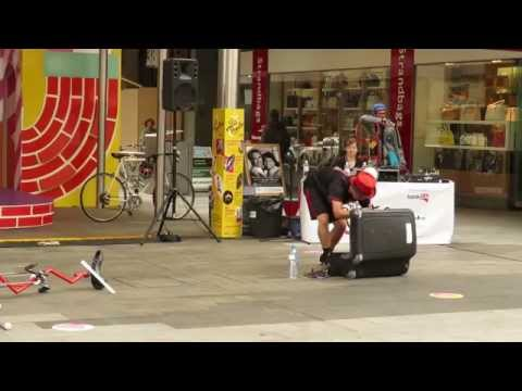 The Mr Spin Show Part 1 of 2 - Street Theatre, Rundle Mall, Adelaide Sth Australia 2015