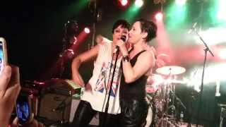 Divinyls tribute: Baby Animals & Sarah McLeod.