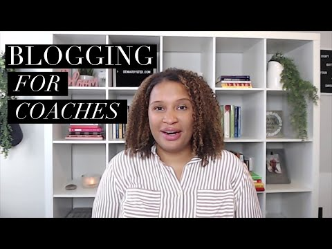 Blogging  for Coaches
