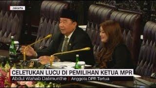 Celetukan Lucu di Pemilihan Ketua MPR