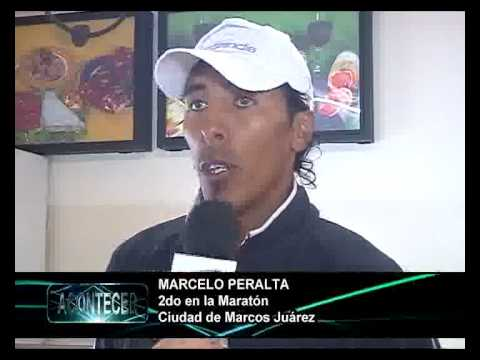 MARCELO PERALTA, 2DO  EN MARATON CIUDAD DE BS  AIRES NEW