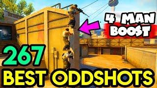 POLISH TOWER *new BOOST* - CS:GO BEST ODDSHOTS #267