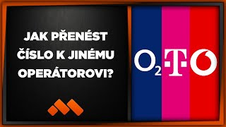 Jak přenést číslo k jinému operátorovi? T-mobile, O2, Vodafone