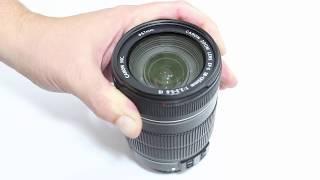 Como desmontar e limpar a lente Canon 18-135mm 3.5-5.6 IS (parte frontal)