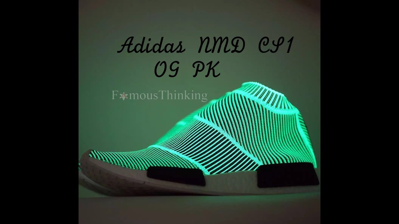 Adidas NMD City Sock PK CS1 Glow