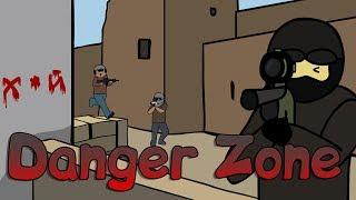 CS:GO-Cartoon. Danger Zone