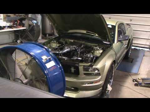 2005 Twin Turbo Mustang GT on the Dyno, Steeda.ca - 640 RWHP / 620 RWTQ @ 15 PSI
