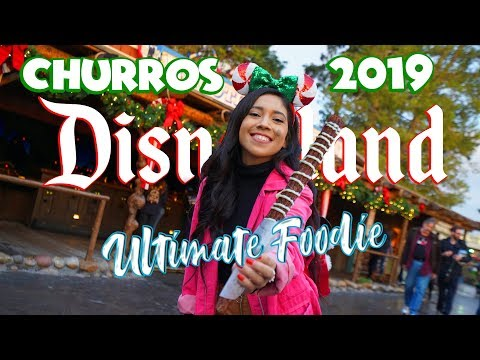 Ultimate Foodie Guide to The Holiday Churro's at the Disneyland Resort!