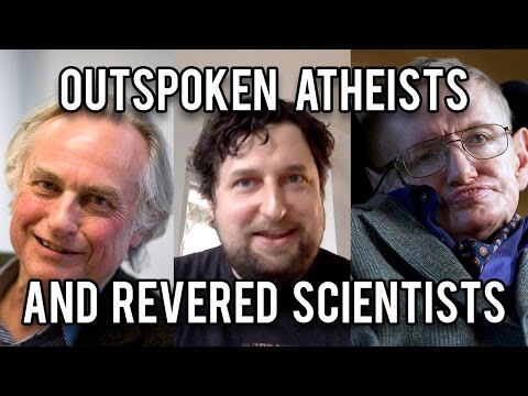 Outspoken Atheists and Revered Scientists - Cedars' vlog no. 143