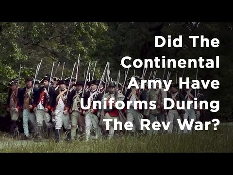 Q&A: Did Soldiers In The Continental Army Have Uniforms?