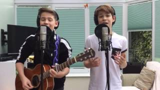 Repeat youtube video Drive By - Train (Cover by Max & Harvey)