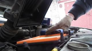 видео Замена воздушного фильтра ваз 2110 инжектор