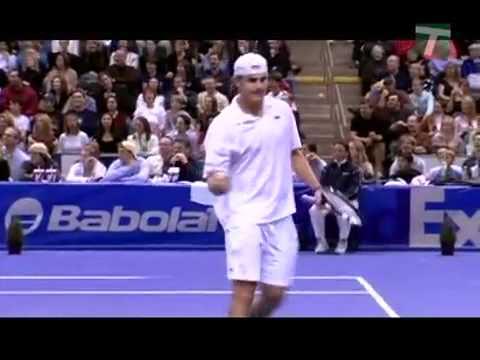 Roddick Impersonates Mac, Agassi, Hewitt, and MaSha