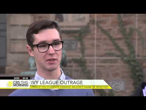 Princeton Students Demand Woodrow Wilson's Name Be Removed