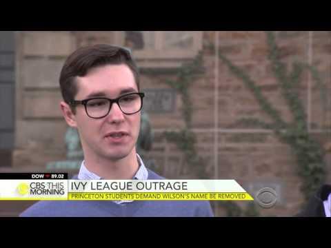 Princeton Students Demand Woodrow Wilson