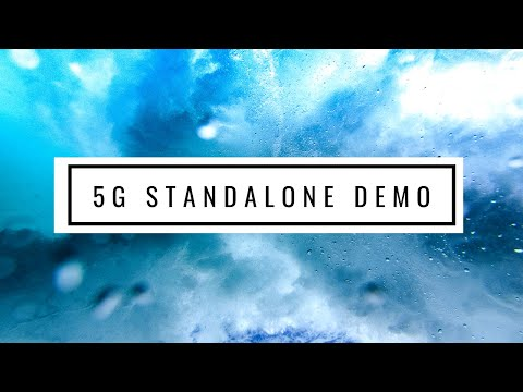 Radisys 5G Standalone Demo at MWC2019