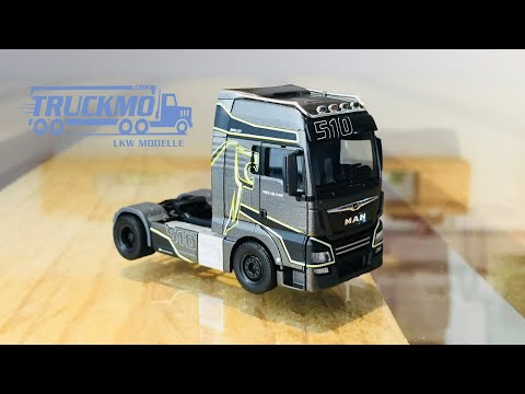 Evolion MAN TGX XXL 18.510 Sattelzugmaschine ZY.HE093-8457 Herpa