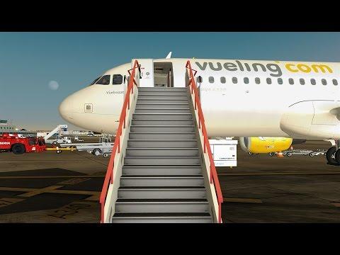 Airline2Sim Flight Sim Labs A320-X First Look Part 1
