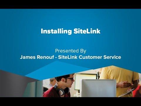Installing SiteLink - SiteLink Training Video