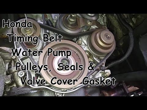 DIY Honda Accord/Acura CL Timing Belt and Water Pump