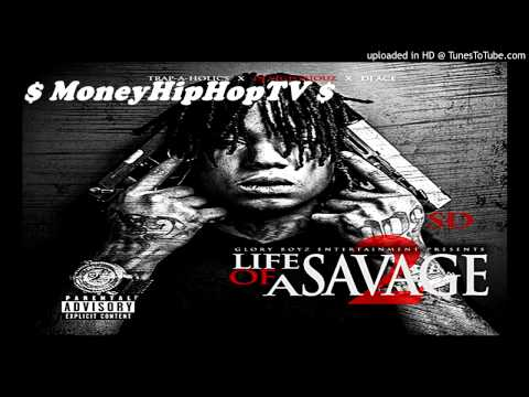 SD Ft. Fetti Gang - ' Violent '   [Prod. By 808 Mafia]  | Life Of A Savage 2