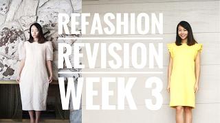 DIY: Faded Vintage Dress Refashion