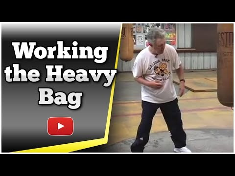 Becoming a Better Boxer - Working the Heavy Bag - Kenny Weldon