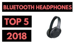 TOP 5: Best Wireless Bluetooth Headphones 2018