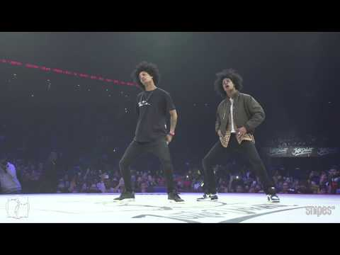 Hip hop Best 16 - Juste Debout 2019 - Les Twins (Larry & Laurent) vs Brotha E & Prince Wayne