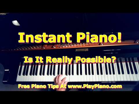 Instant Piano - Is It Really Possible? Yes or No?