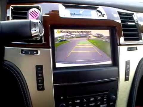 Cadillac Escalade Backup Camera Youtube