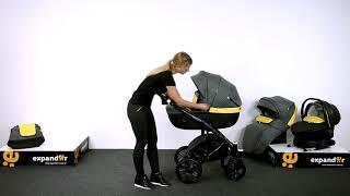 Дитяча коляска Expander Enduro 3 в 1 модель 2017 р