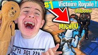 JE PRANK UN ABONNÉ EN PLEIN TOP 1 SUR FORTNITE BATTLE ROYALE !!!