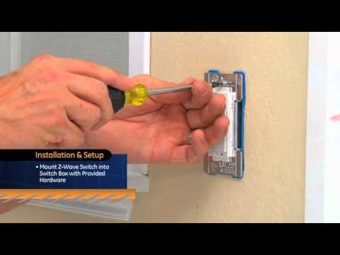 GE Z-Wave - Dimmer Switch from YouTube · Duration:  2 minutes 32 seconds
