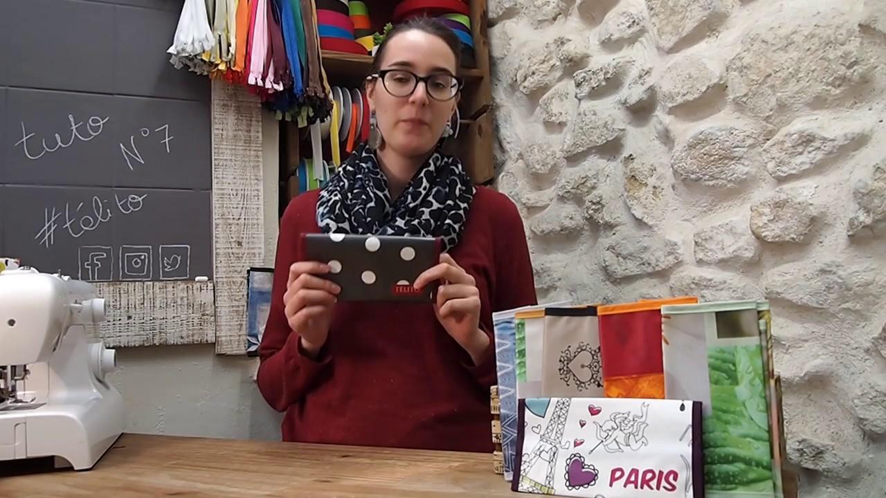 Tuto couture 7 le porte ch quier youtube - Comment accrocher un porte jarretelle ...